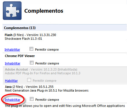 desactivar-java-en-chrome