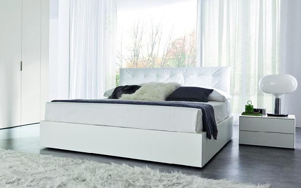 Dormitorios matrimoniales en blanco dormitorios con estilo - Dormitorios en color blanco ...