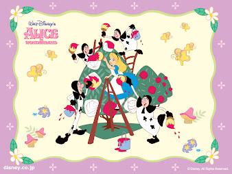 #6 Alice in Wonderland Wallpaper