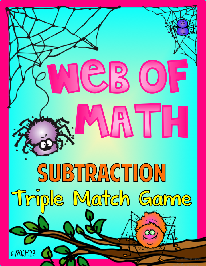 Spider:  Math Game