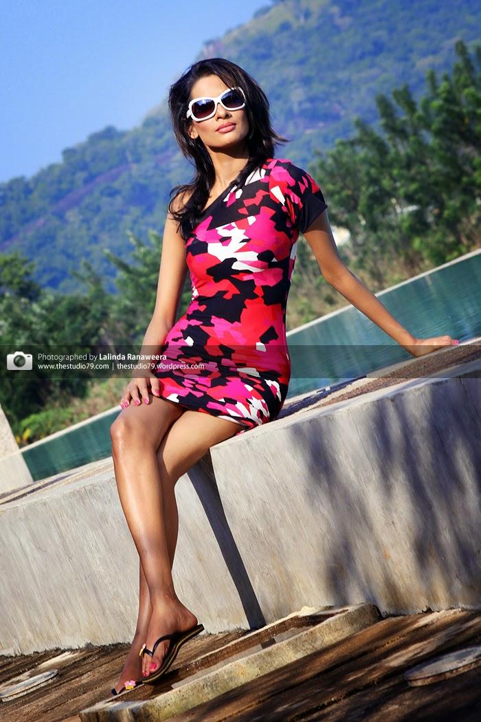 Charitha Waidyasiri pool legs