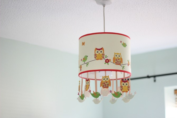 Nursery light shade