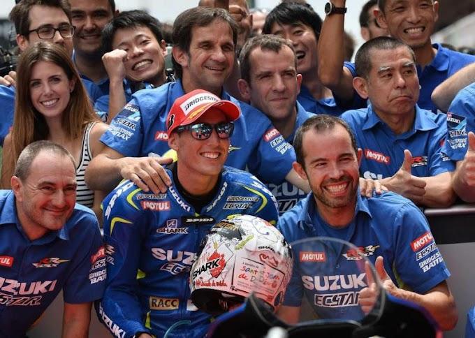 Hasil Kualifikasi MotoGP Catalunya - Pasukan Suzuki Kuasai Pole!