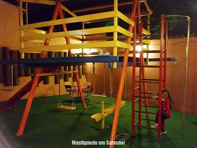 Rancho do Cupim: Parque infantil