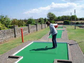 Arnold Palmer Crazy Golf course in Skegness, Lincolnshire