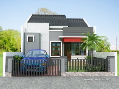 Gambar Bentuk Rumah Minimalis