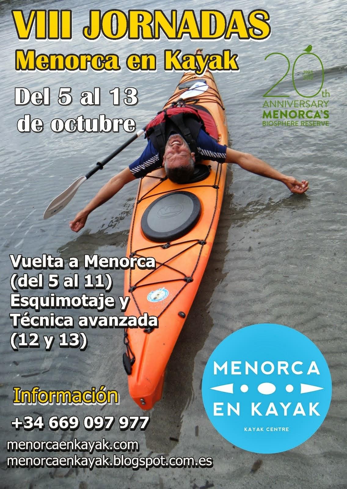 VIII JORNADAS MENORCA EN KAYAK