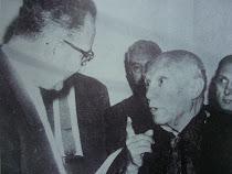 Avec Pablo Picasso