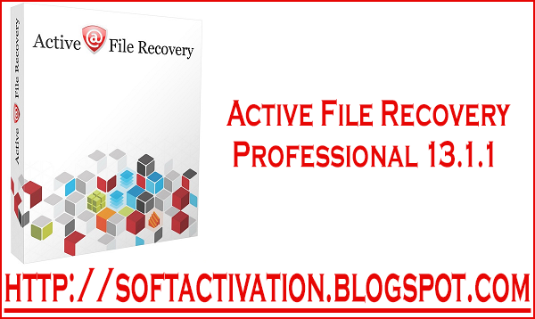 activate active@ file recovery software with a registration key