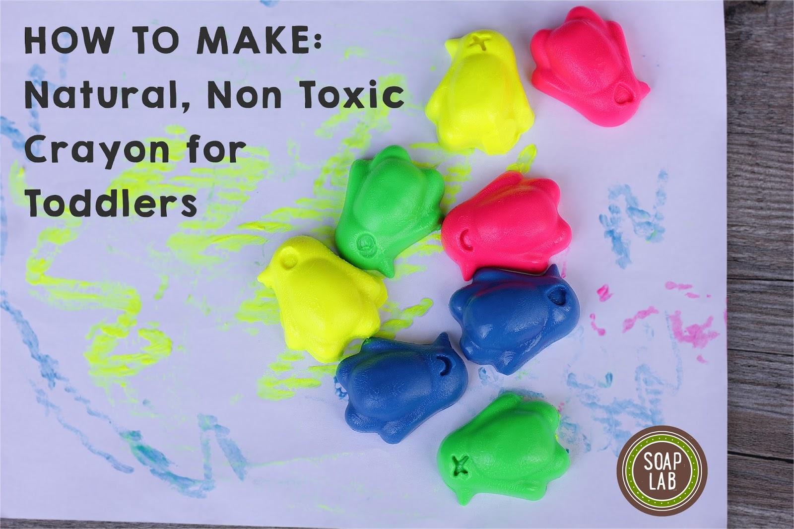 handmade non toxic crayon malaysia for kids