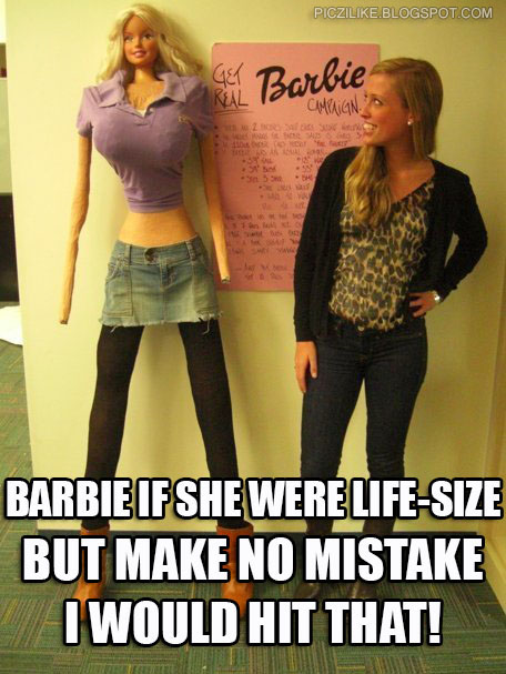 if i were a barbie The first persons of barbie's life were her parents, they were appear in barbie's first book sometimes characters names are changed by mattel.