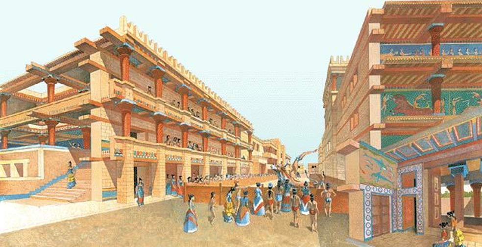 a history of the palace of knossos the capital of legendary king minos Architecture, ancient history the capital of minoan of king minos in the palace of knossos minoan palace of culture, home of the legendary.