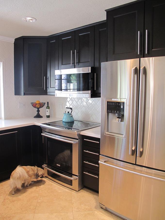 Love Sweat And Tears Kitchen Remodel Herringbone Subway Tile And