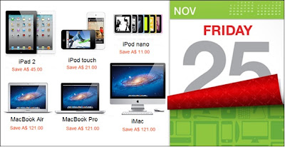 Apple Deals for Black Friday 2011