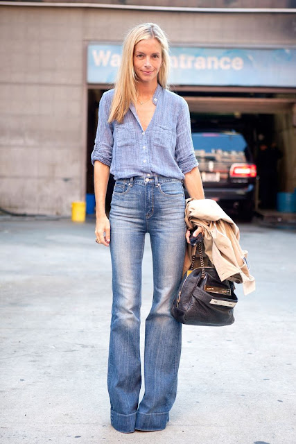 calca cintura alta  jeans