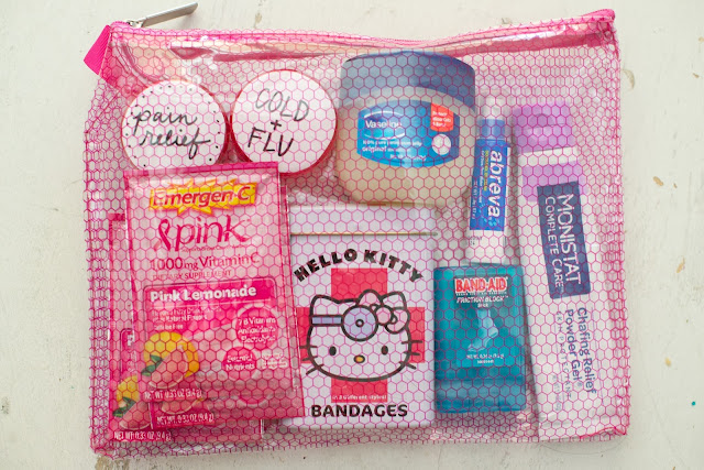 first aid kit 8 dorm room must haves-faviana