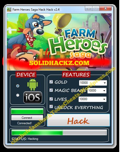 Farm Heroes Saga Hack Tool