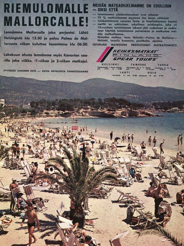70-luvulta, päivää !: Riemulomalle Mallorcalle