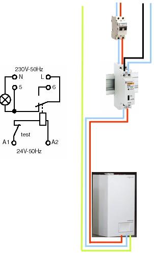 raccordement d une chaudi re murale dans le cas de vmc gaz. Black Bedroom Furniture Sets. Home Design Ideas