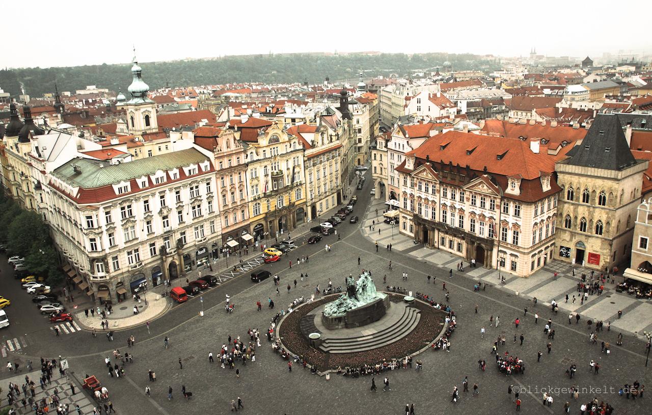 Turmaussicht, Altstädter Rathaus, Prag