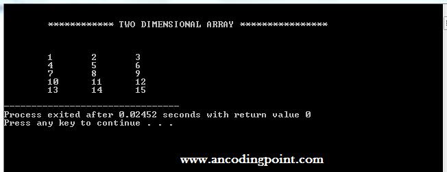 C++ Prgramming