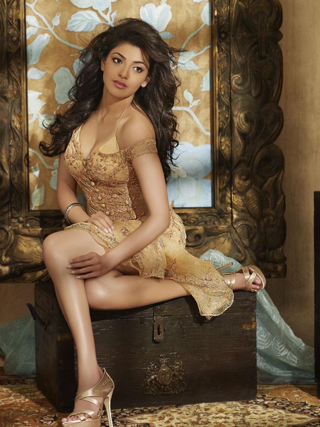 Kajal Agarwal Latest Calendar Magazine PhotoShoot ~ Bollywood World