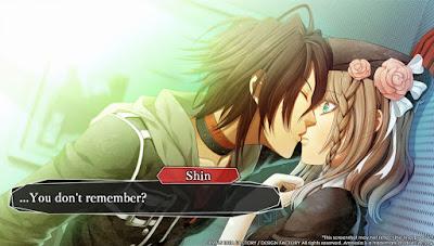 Visual Novel Game Amnesia Memories