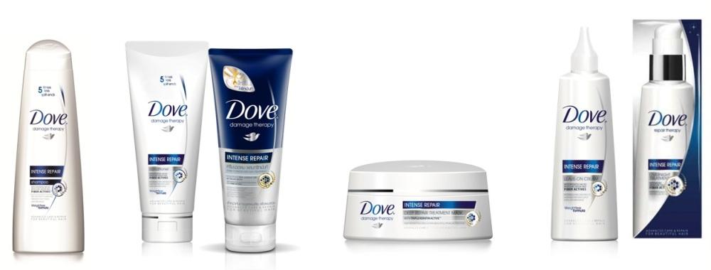 Dove Damage Therapy Range