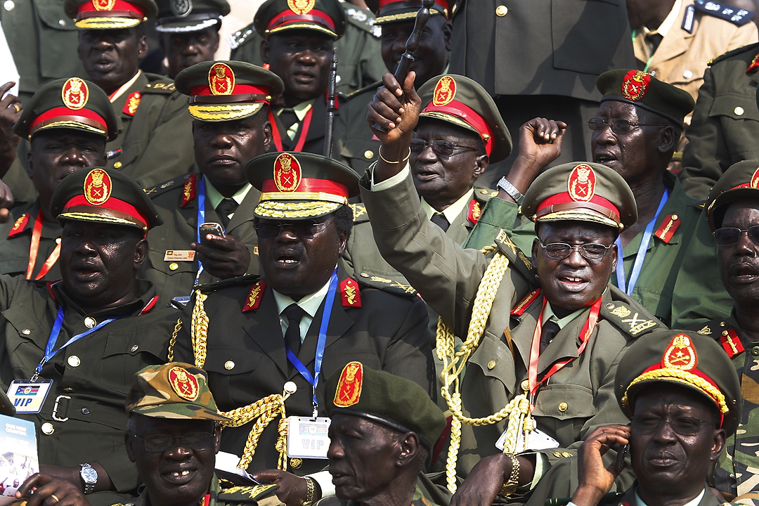 Generals of South Sudan