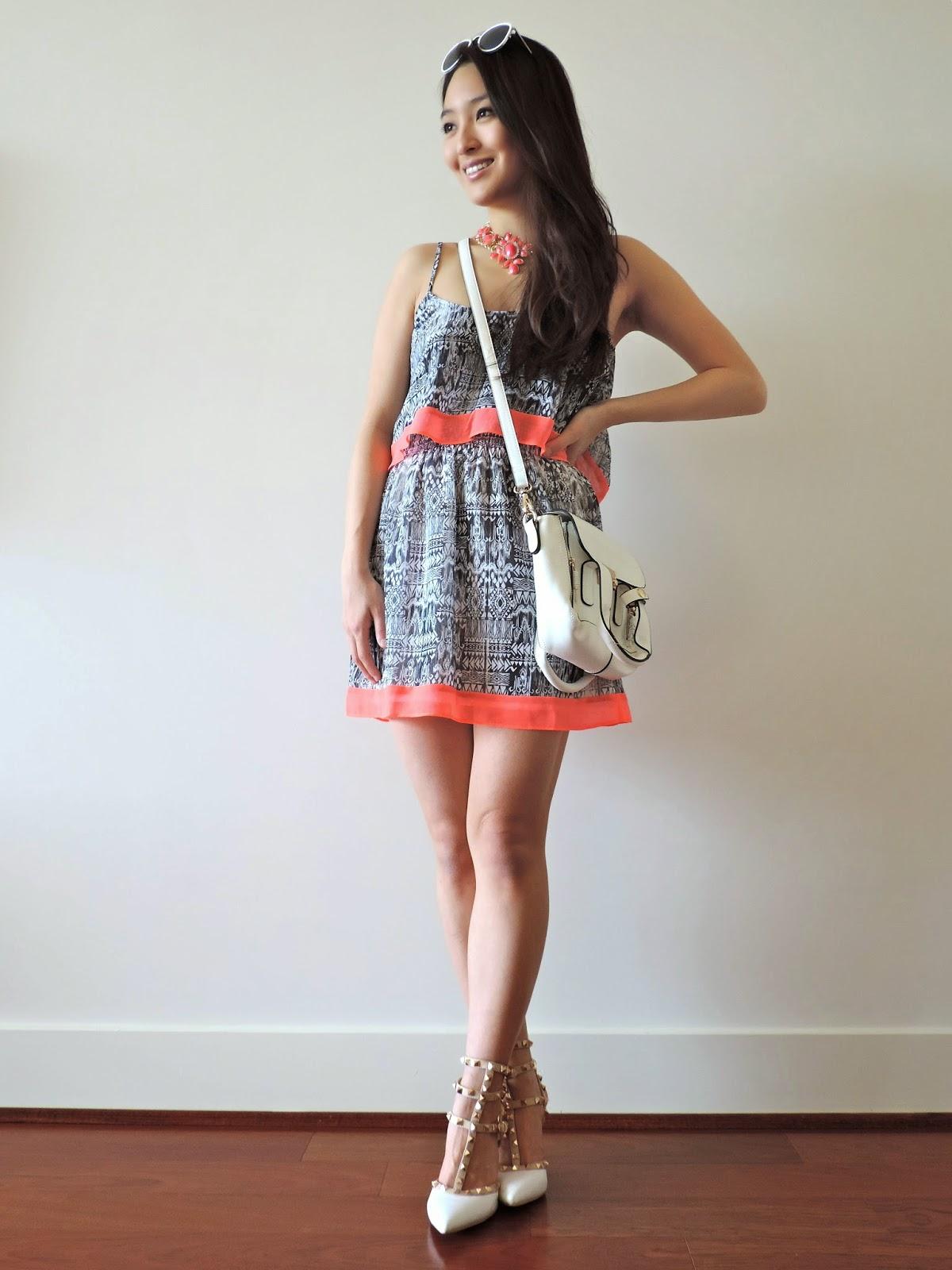 The Tiered Chiffon Dress