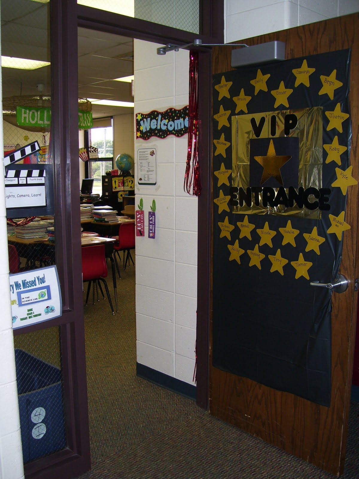 Classroom Vip Ideas : Tech beyond walls hollywood classroom theme ideas decor