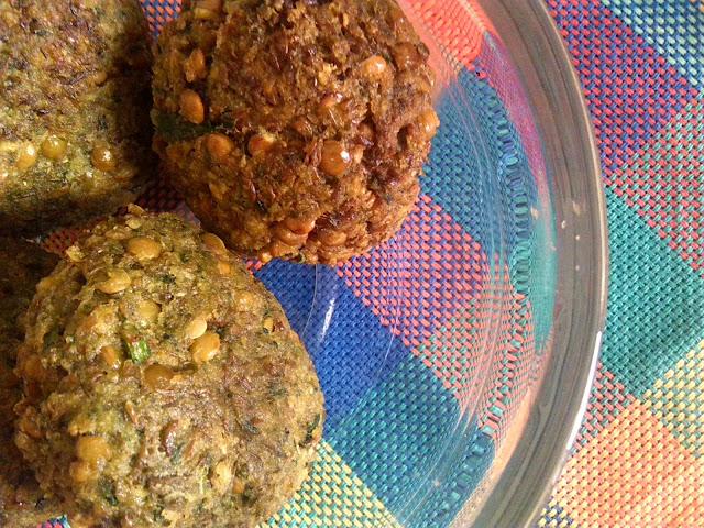 Falafel fáciles de lentejas, fuente de proteína vegetal