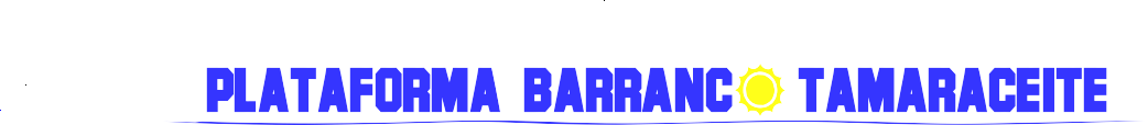 PLATAFORMA BARRANCO TAMARACEITE