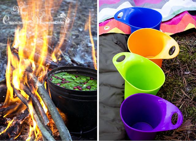 как заварить чай в лесу