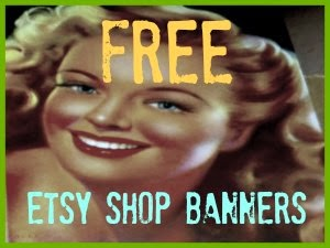 Free Etsy shop banners