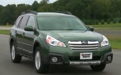 2013 subaru outback first drive from consumer reports media spin. Black Bedroom Furniture Sets. Home Design Ideas
