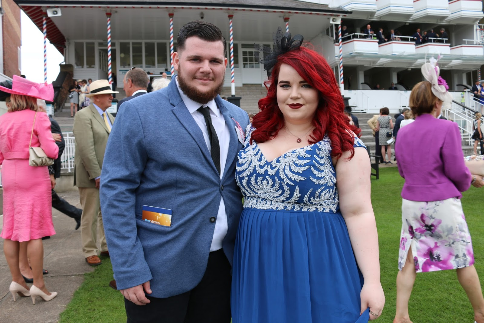 Dove #100Colours at York Races!