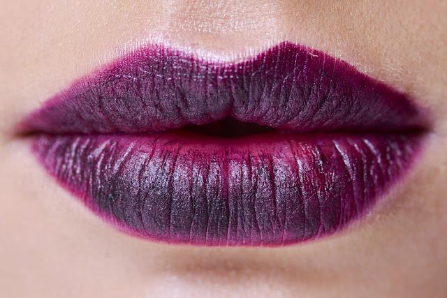 labios purpura