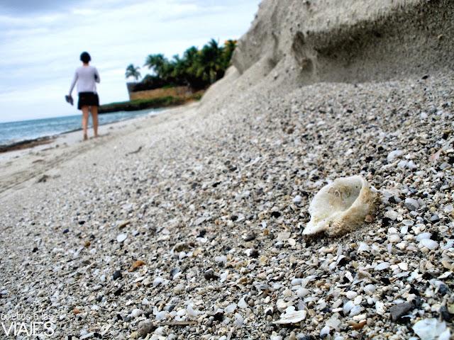 playa desierta cuba