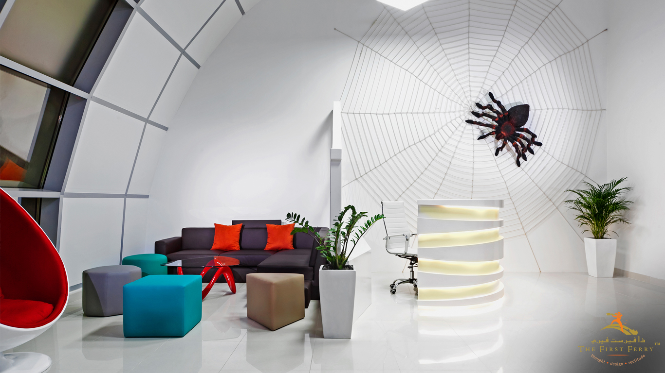 The first ferry creative and unconventional interior for Decor fusion interior design agency
