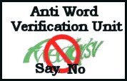 Say NO to Word Verification!!