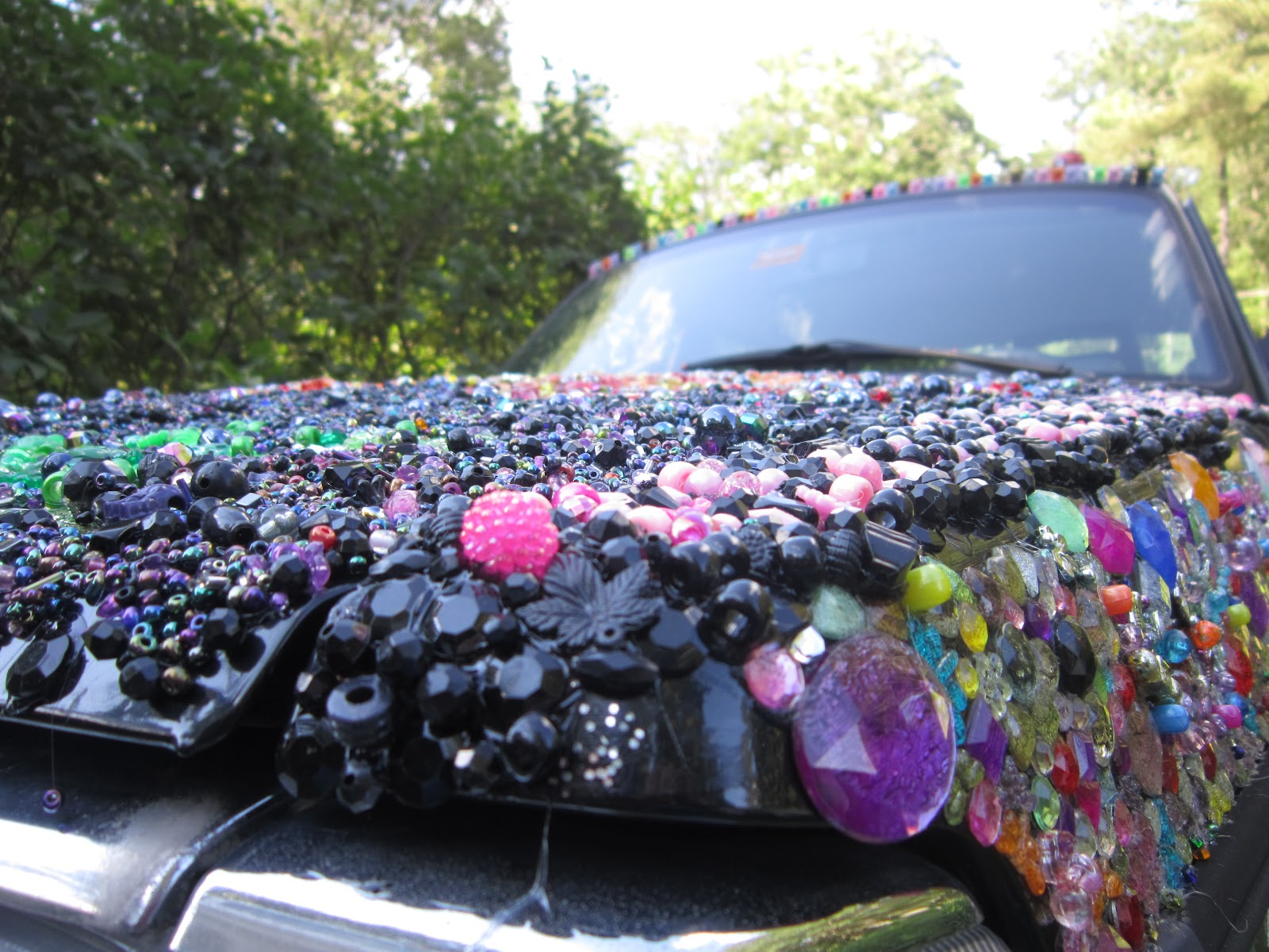 The Dazzling Razzberry aka The Autism Awareness Car