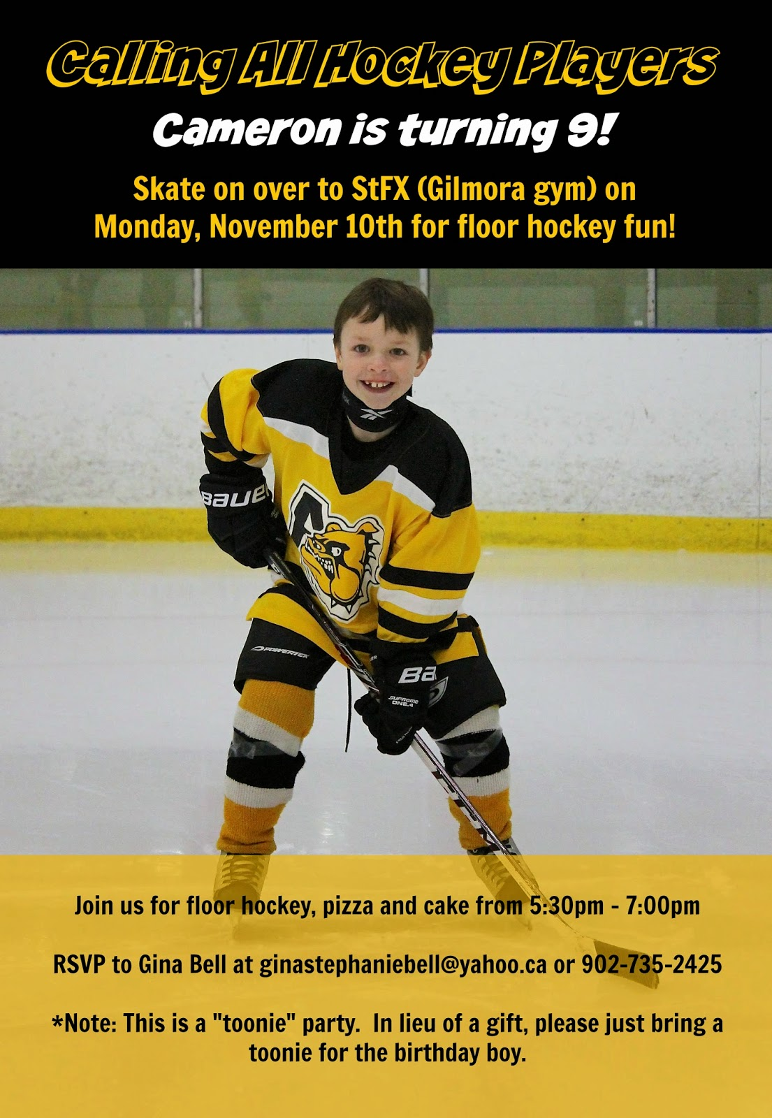 East Coast Mommy The Ultimate DIY Hockey Party