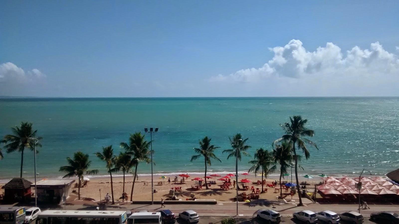 Vista do apartamento 606 do Maceió Mar Hotel