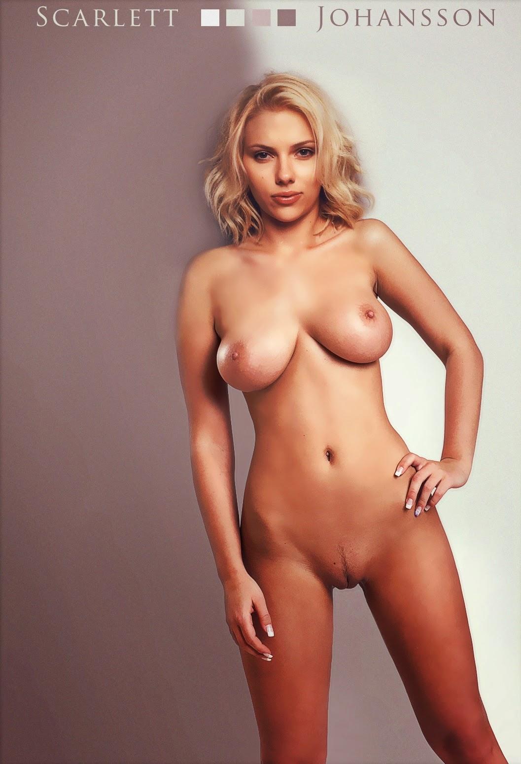 Scarlett johansson naked topless