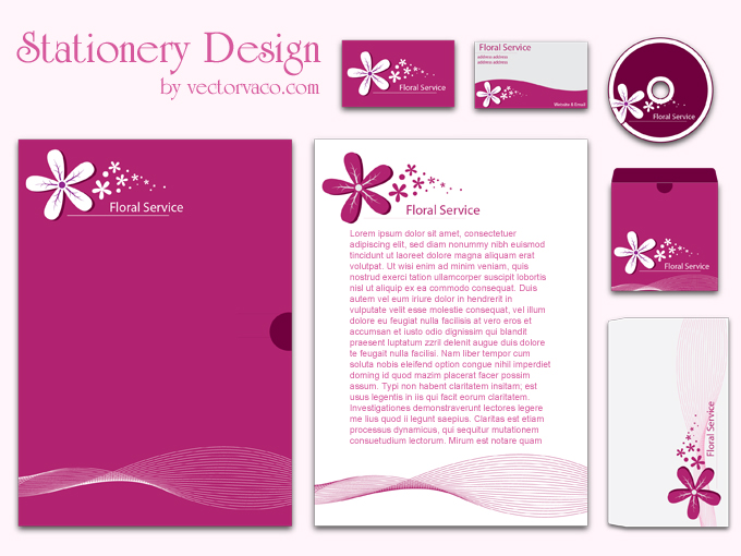 Corporate stationery design purple color the stationery if any problem in download please send me a comments with your email address i will send you feedback with new download link wajeb Choice Image