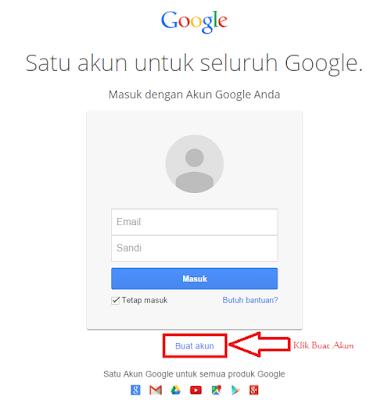 Mendaftar Akun Gmail Baru