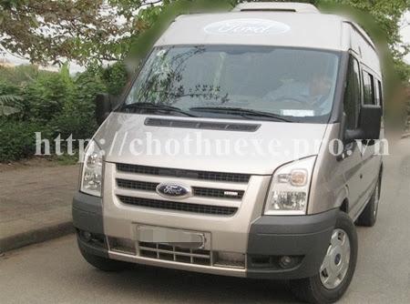 Cho thuê xe 16 chỗ Ford Transit tại Hà Nội