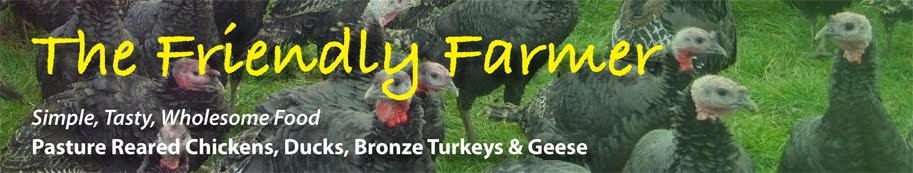 The Friendly Farmer,  Free Range Bronze Turkeys, Geese, Ducks Ireland 