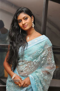 Actress-Anjana-Stills-in-Saree-at-Malligadu-Marriage-Bureau-Audio-Launch